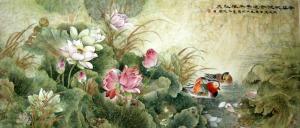Xiao Xiao's mother's art