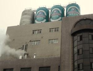 beer tsingtao roof tanks