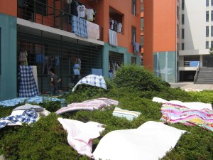 blankets drying2