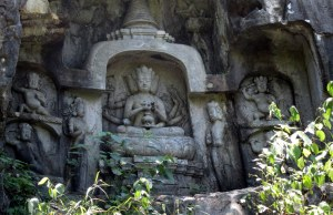 buddhism business grottotryptich closeup