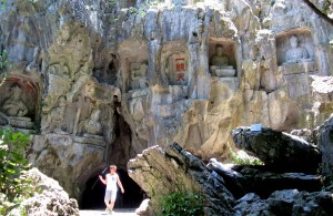 buddhism business grottowith boy