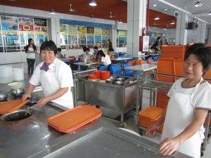 Canteen ladies, China Petroleum University