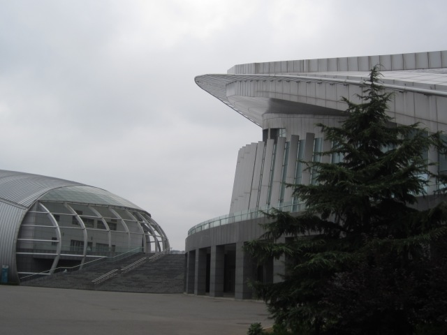 China Petroleum University gymnasium