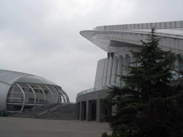 China Petroleum University gymnasium