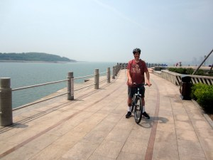 Kenny on Huangdao Promenade