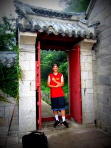 keny in temple gate