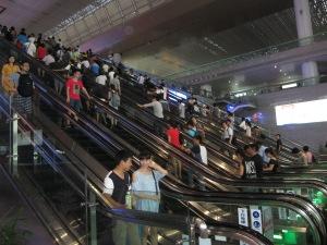 lots of escalators nanjing