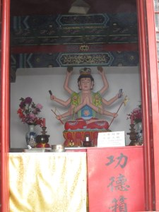 Taoist shrine, Laoshan holy mountain