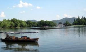 Hangzhou on West lake