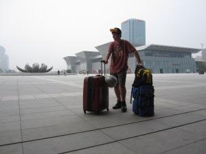 Jinan's train station (Shandong province)