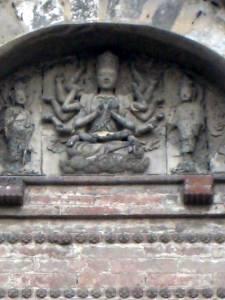 Near Baiyunguan: a buddhist pagoda not on the premesis