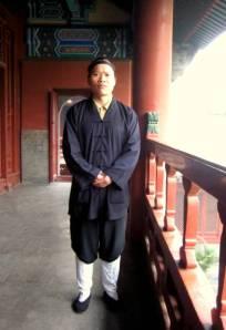 Baijynguan Taoist monk