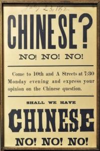 Anti-Chinese poster
