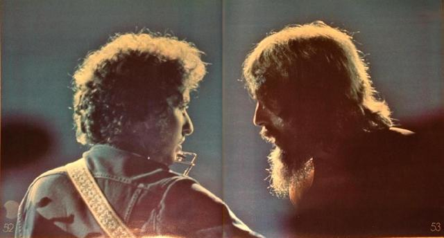August 1, 1971. George Harrison and Ravi Shankar joined on stage by friends Bob Dylan, Ringo Starr, Eric Clapton, Billy Preston to raise funds for UNICEF relief in Bangladesh.